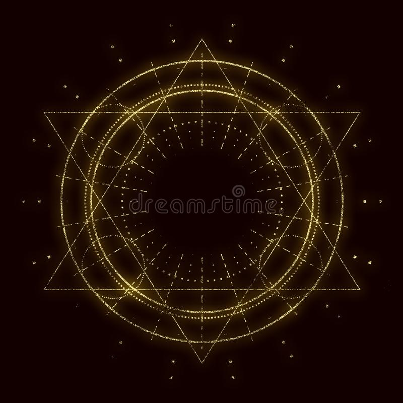 Símbolo oculto místico libre illustration