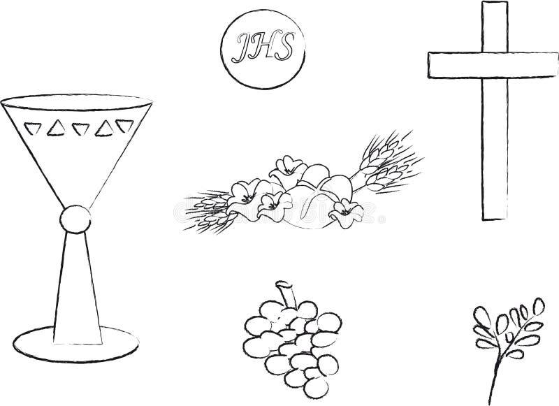 Símbolo para el cristianismo libre illustration