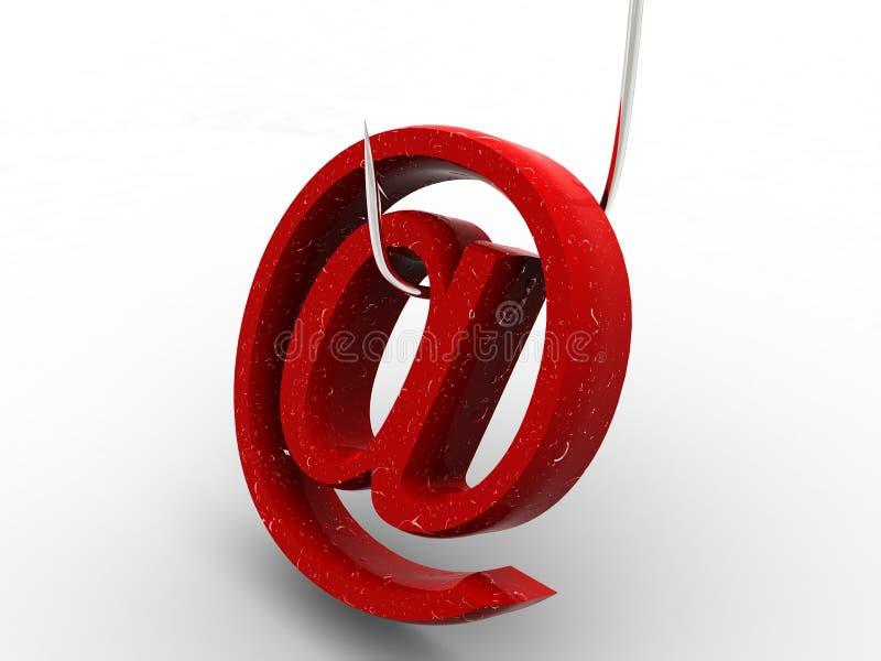 Símbolo para o Internet ilustração do vetor