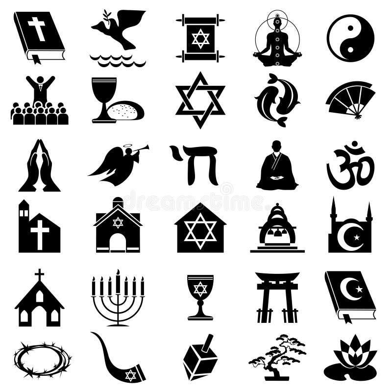 Símbolo religioso ilustração royalty free