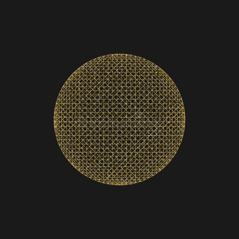 Símbolo sagrado de la geometría stock de ilustración