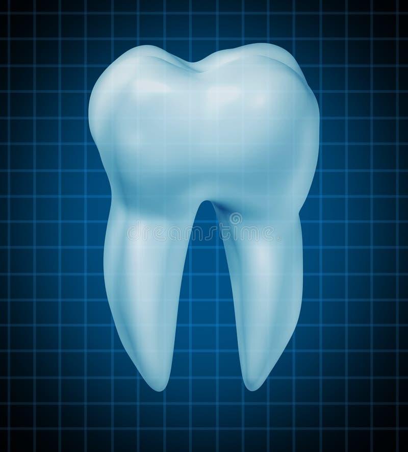 Símbolo saudável dos dentes ilustração stock