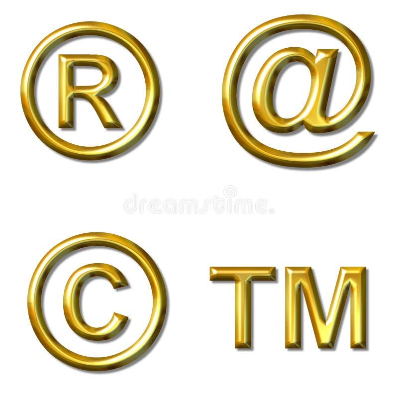 Símbolos ilustración del vector