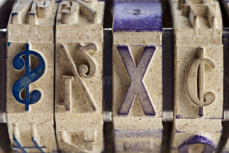 Símbolos fotografía de archivo