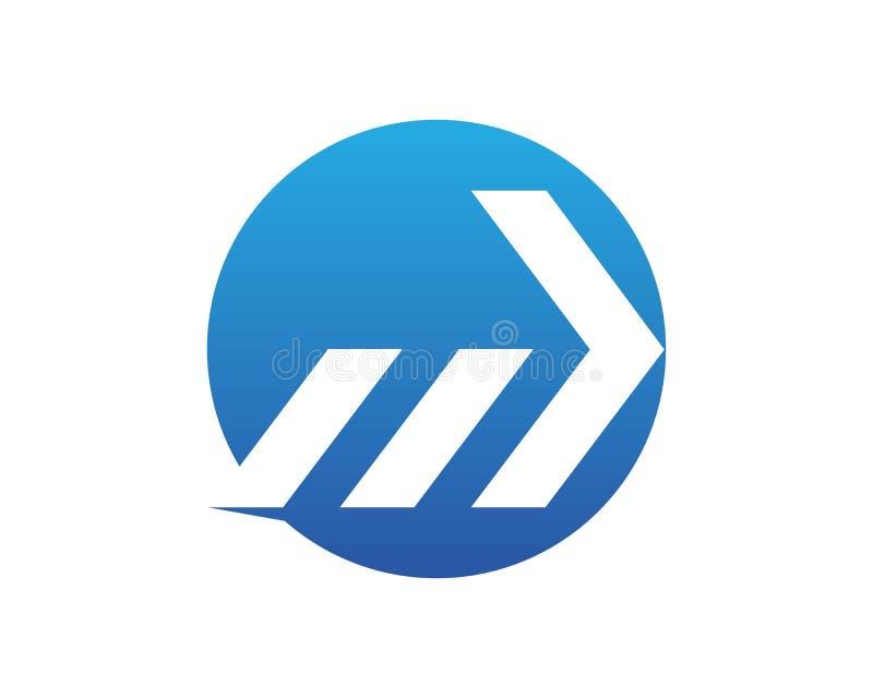 Símbolos app do vetor dos logotipos da finança ilustração royalty free
