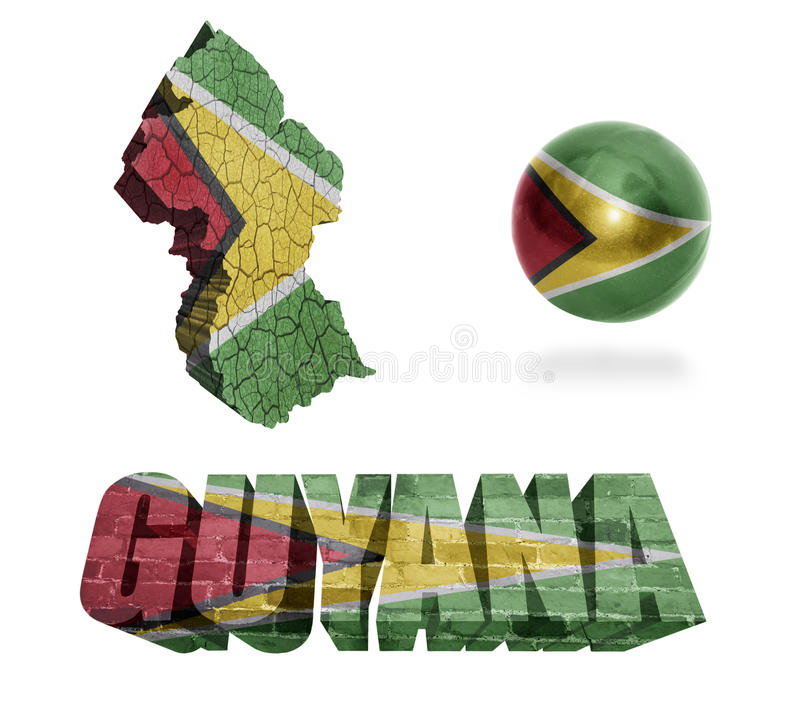 Símbolos de Guyana libre illustration