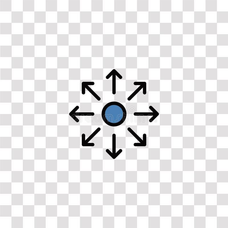 símbolos de icono de direcciones y símbolo direcciones icono de color para el diseño de sitios web y desarrollo de aplicaciones m libre illustration