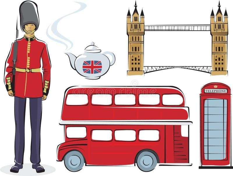 Símbolos de Londres libre illustration