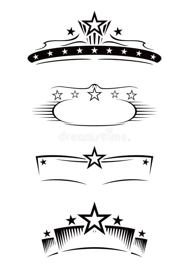 Símbolos del entretenimiento libre illustration