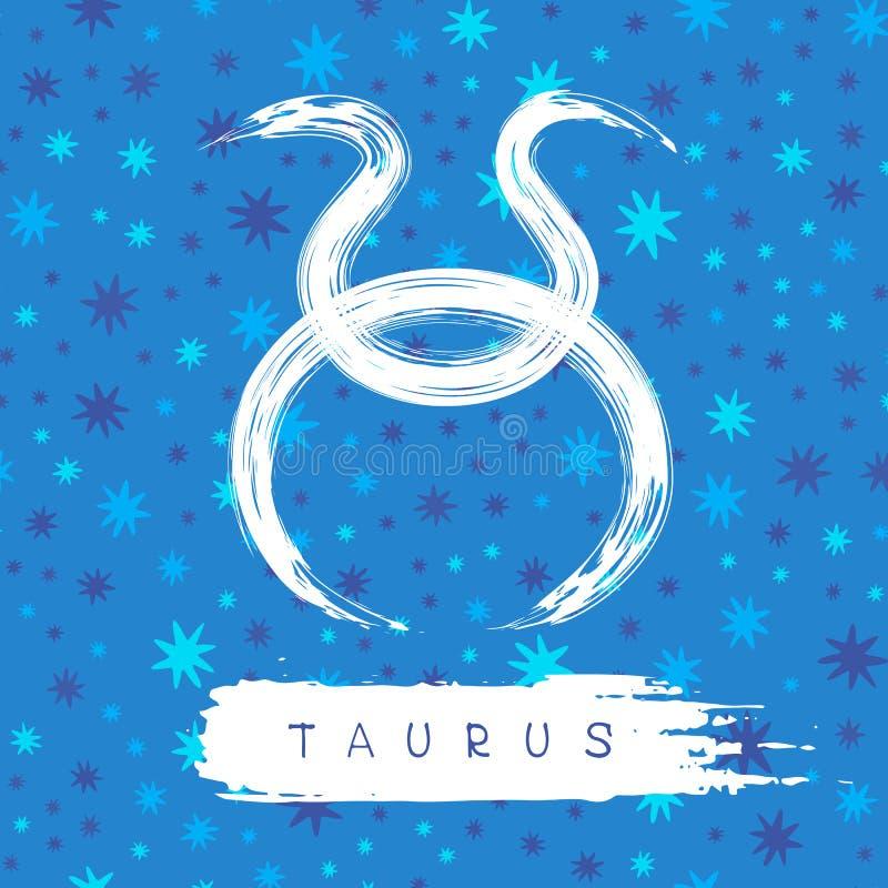 Símbolos do zodíaco ilustração stock