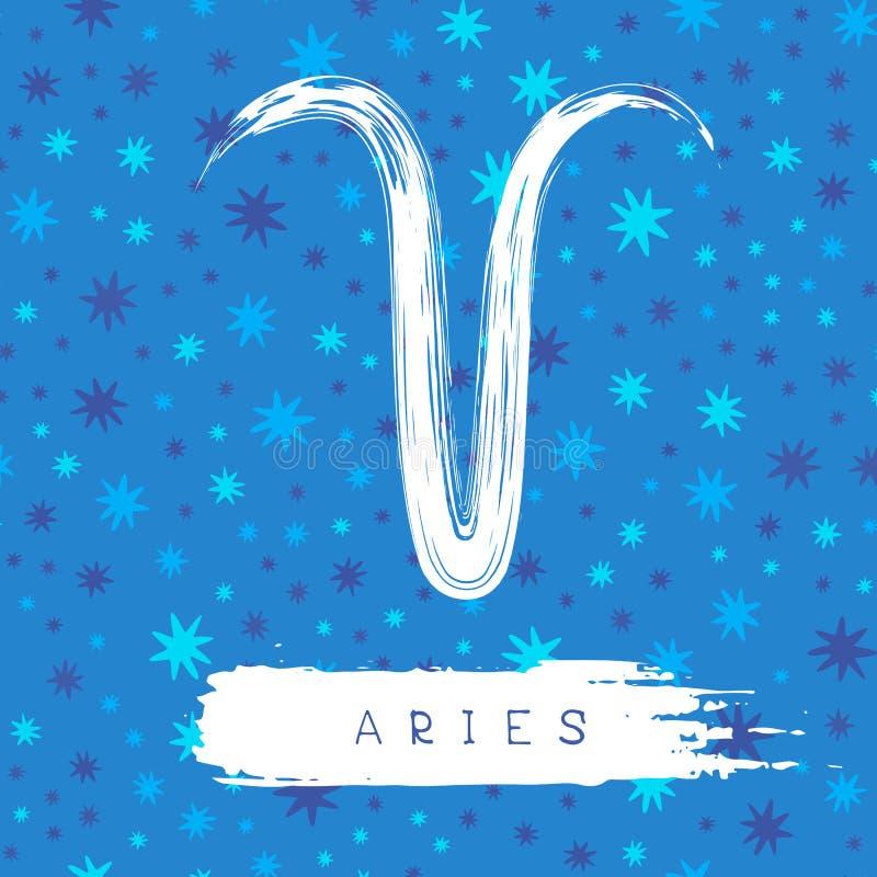 Símbolos do zodíaco ilustração royalty free