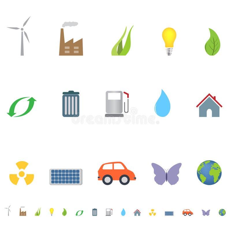 Símbolos e iconos de Eco