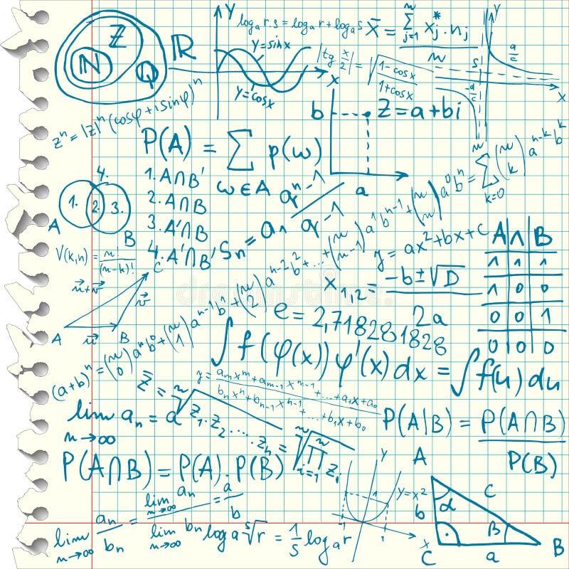 Símbolos matemáticos libre illustration