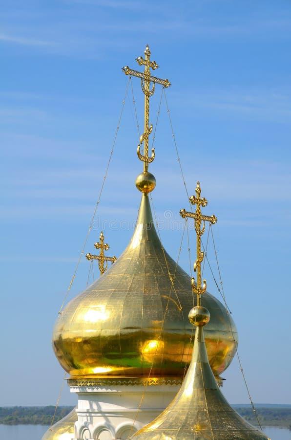 Símbolos ortodoxos fotos de archivo