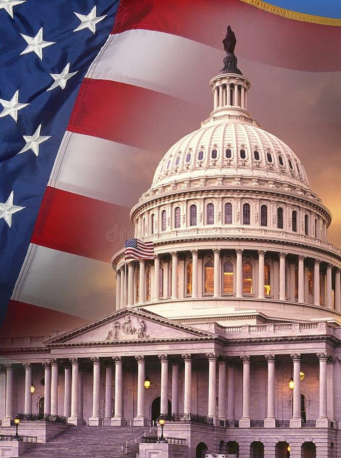 Símbolos patrióticos - los Estados Unidos de América fotos de archivo libres de regalías