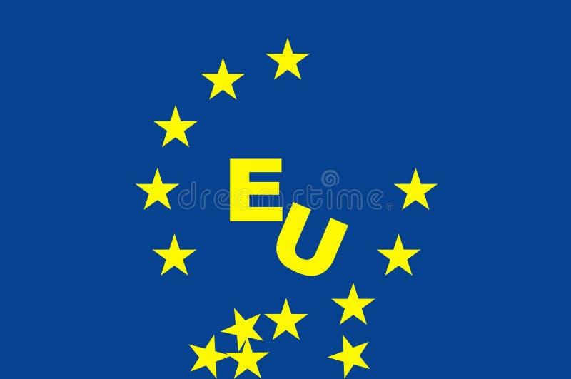 Símbolos y problemas de Europa libre illustration