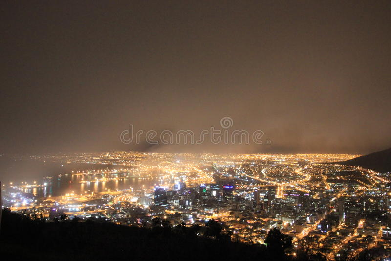 Só em Cape Town fotografia de stock