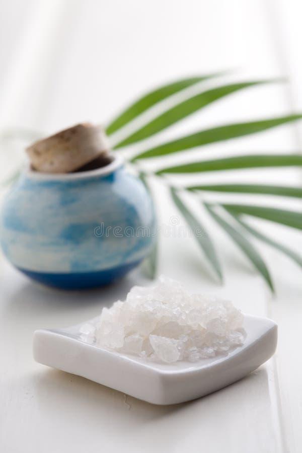 sól wannie białego obrazy stock