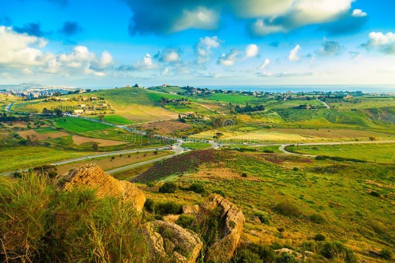 Söder-västra Sicilien arkivfoton