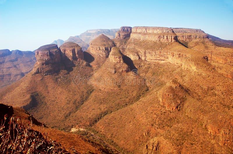 södra africa kanjon royaltyfria foton