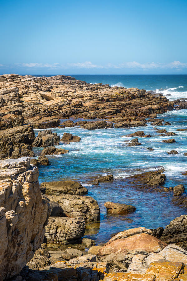 södra africa knysna royaltyfri fotografi