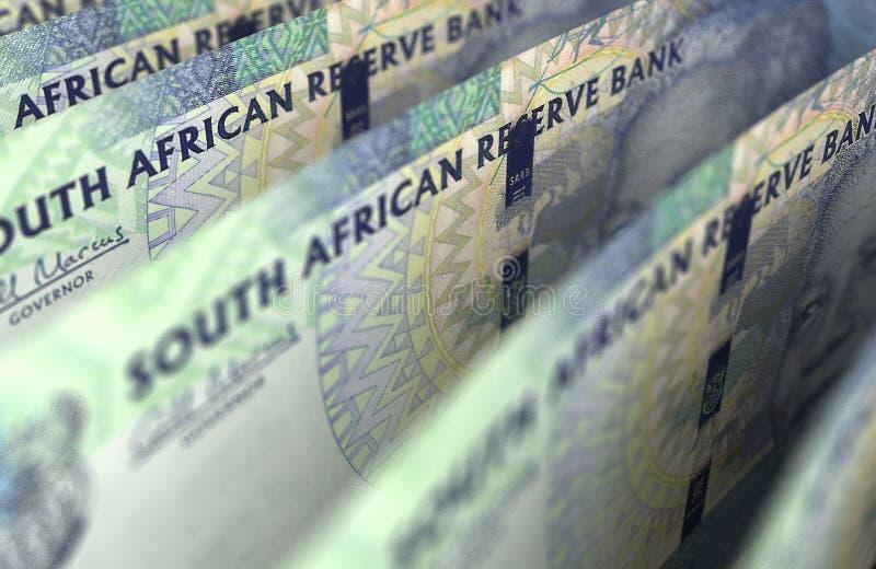 Södra - afrikan Rand Closeup fotografering för bildbyråer