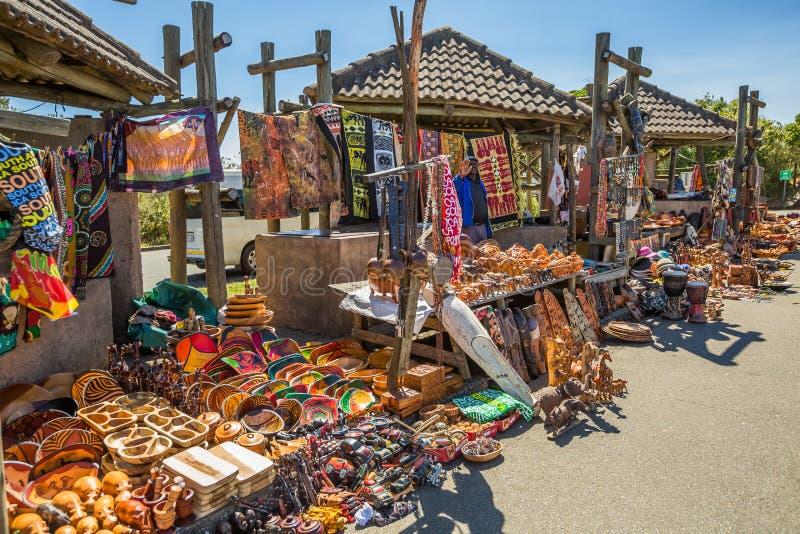 Södra - afrikansk marknad royaltyfri foto