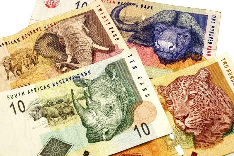 södra afrikansk rand royaltyfri foto