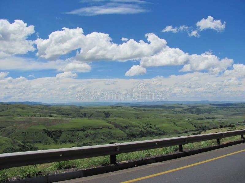 Södra - afrikanskt landskap arkivbilder