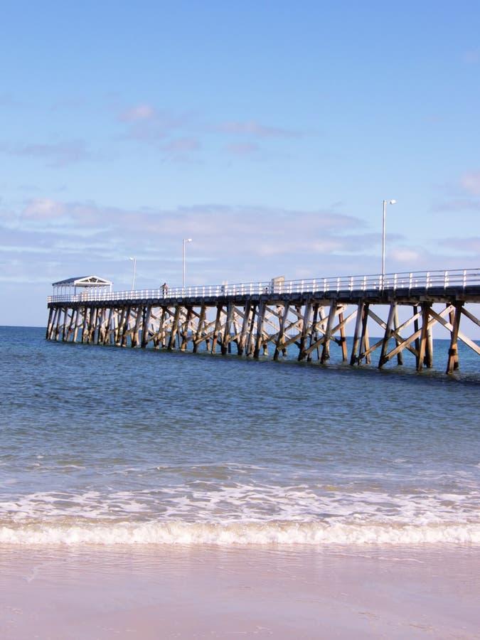 södra Australien avståndsbrygga royaltyfri bild