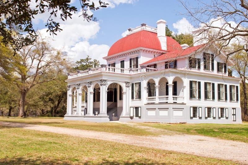 södra carolina kensingtonherrgård royaltyfri bild