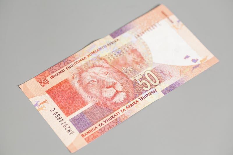 Södra femtio - afrikansk Rand arkivfoto