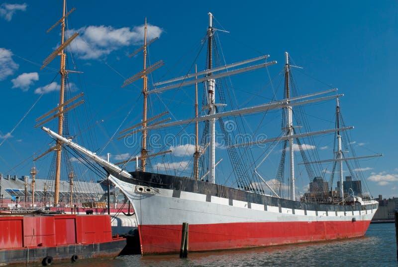 södra gata för schoonerseaport royaltyfri foto