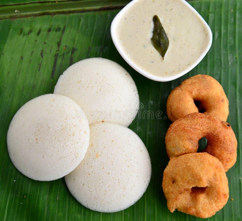 Södra indisk frukost fotografering för bildbyråer