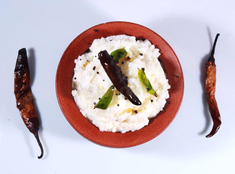 Södra indisk mat för hemlagade ostmassaris royaltyfri fotografi