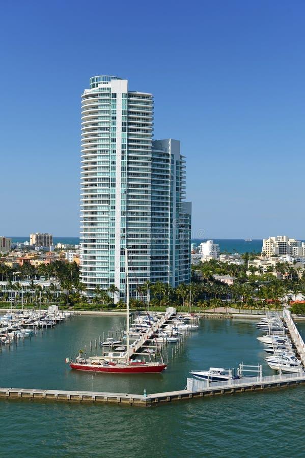Södra Miami Beach royaltyfri bild