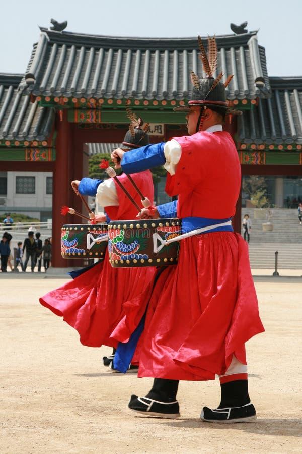 södra nationell slott för gyeonbokgungkorea museum royaltyfri bild