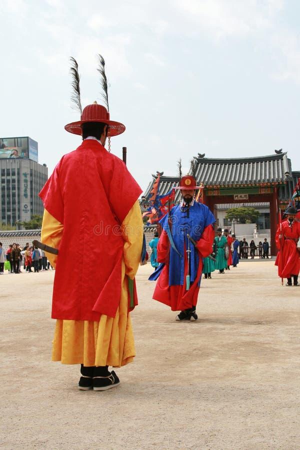 södra nationell slott för gyeonbokgungkorea museum arkivfoton
