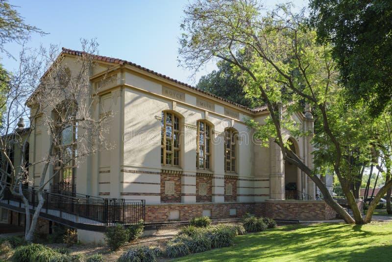 Södra Pasadena offentligt bibliotek arkivbilder