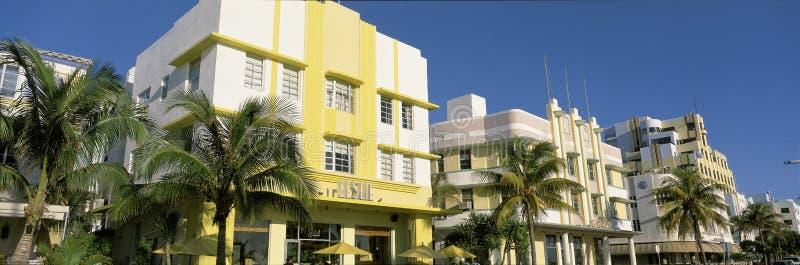 Södra strand Miami royaltyfria foton