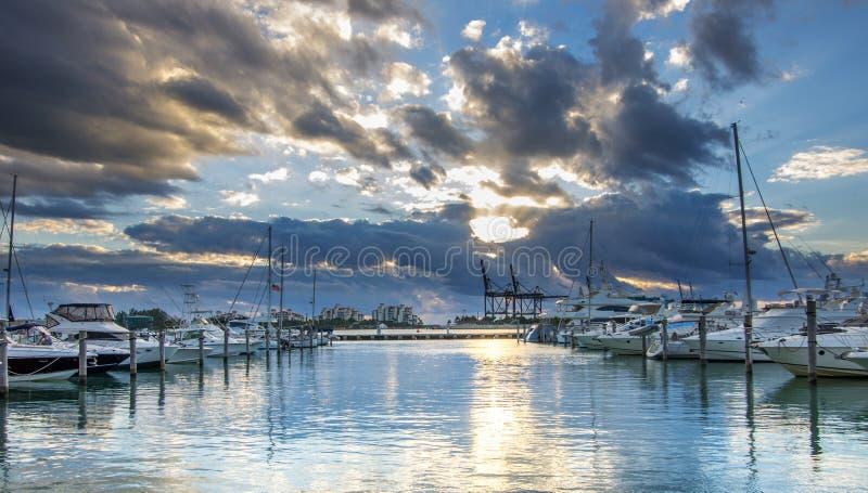 Södra strand, Miami royaltyfri fotografi