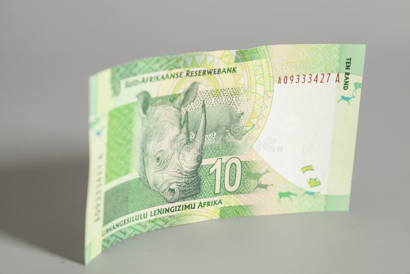 Södra tio - afrikansk Rand arkivbild