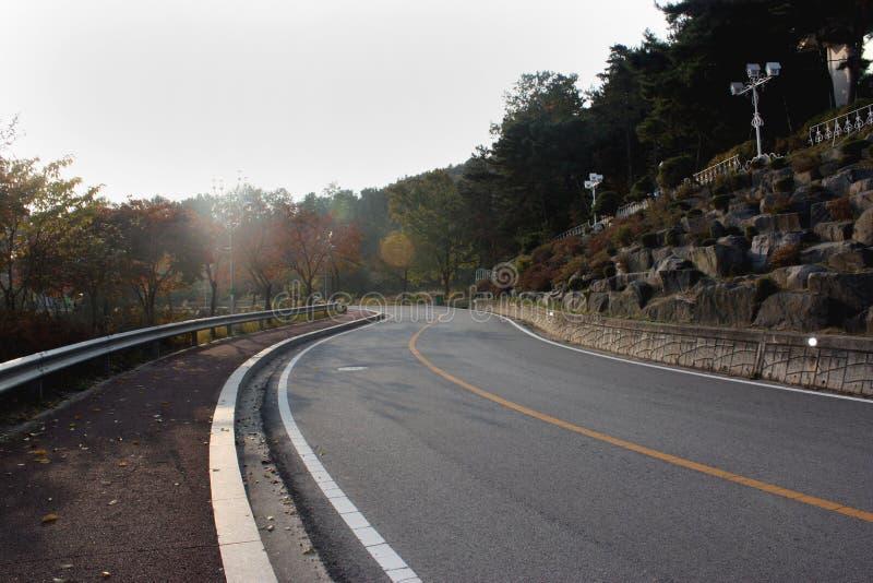 södra väg för 2 korea royaltyfria bilder