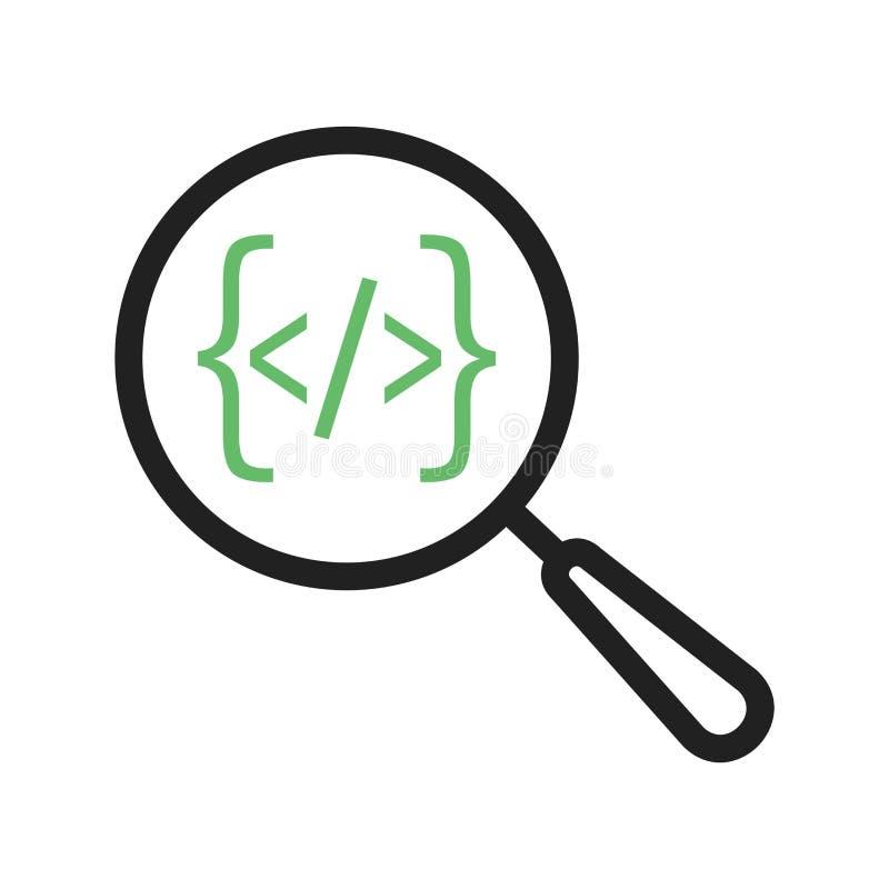 Download Sökande från kod vektor illustrationer. Illustration av coding - 78729977