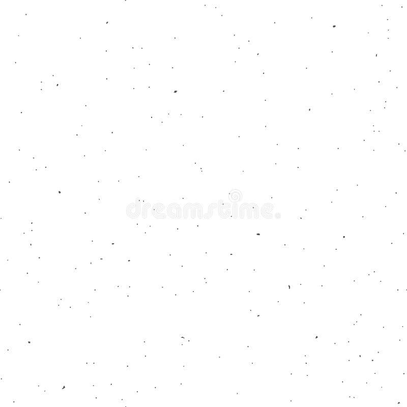 Sömlös återanvänd spräcklig pappers- bakgrund stock illustrationer