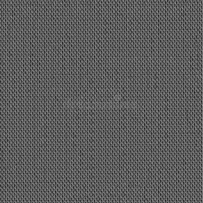 Sömlös översikt för tygtextur för 3d och 2d royaltyfri illustrationer