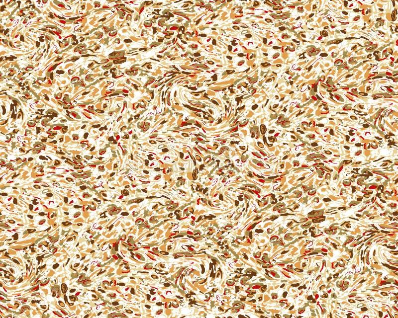 Sömlös abstrakt blom- bakgrundsmodell royaltyfri fotografi