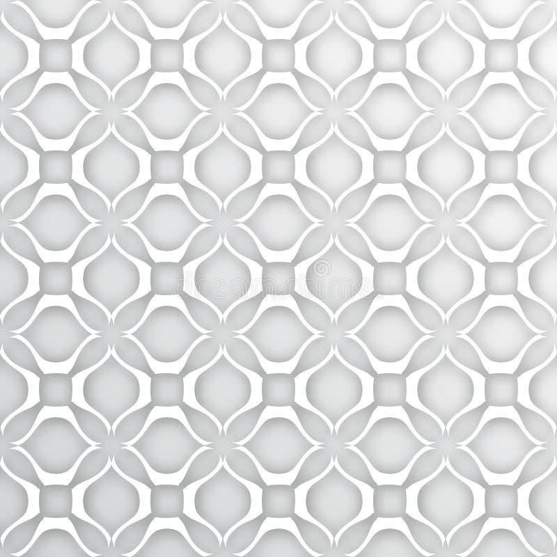 Sömlös abstrakt krabb bakgrund för vektor royaltyfri illustrationer