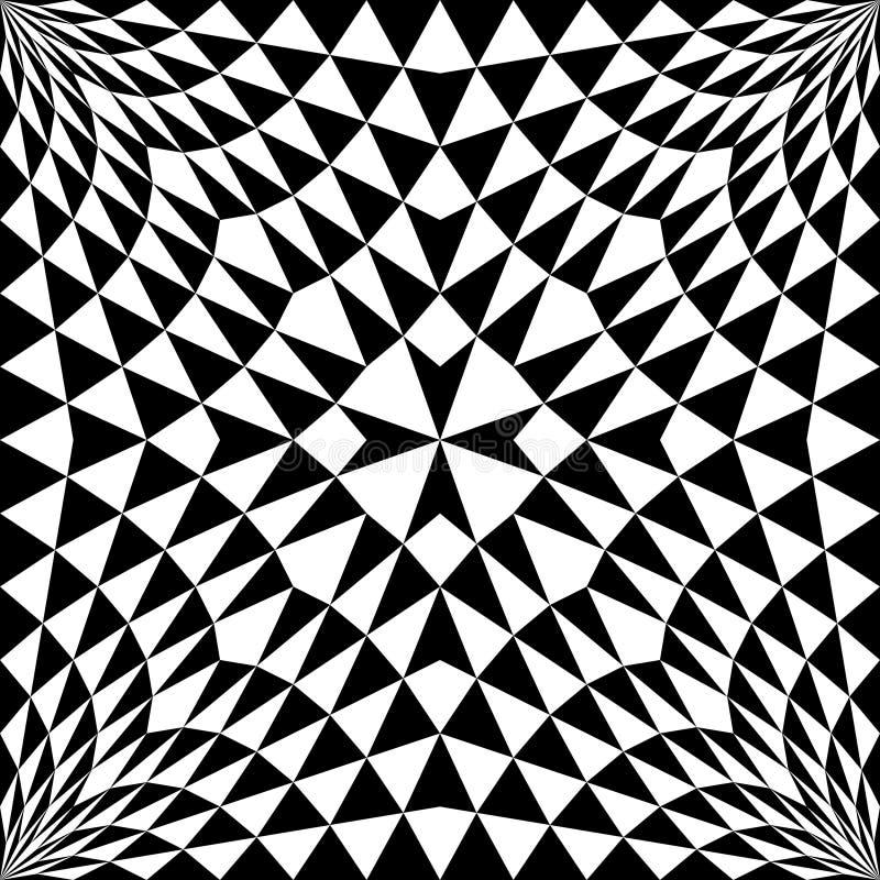 Sömlös arg modell Geometrisk vanlig textur för vektor Abstra vektor illustrationer