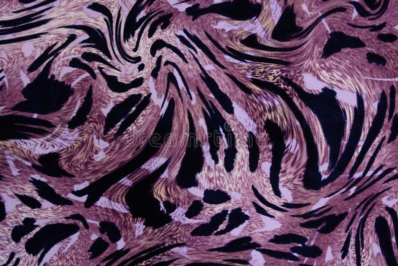 Sömlös bakgrund för leopardhud royaltyfri bild